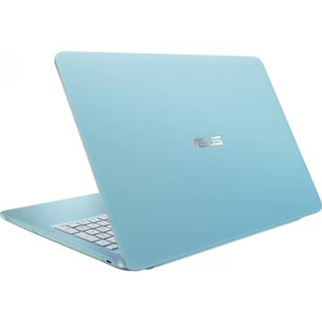 Laptop Asus X540SA-XX375, HD, Intel Celeron N3060, 4GB, 500GB, GMA HD 400, FreeDos, Aqua Blue