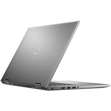 Laptop Dell Inspiron 5578, Intel Core i7-7500U, 15.6 inch, 16GB RAM, SSD 512GB , Win 10 Home, Gri