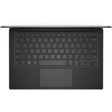 Laptop Dell XPS 9350, Intel Core i5-6300U, 13.3 inch, 8GB RAM, SSD 256GB, Win 10 Home, Argintiu