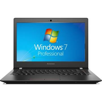 Laptop Lenovo E31-70, Intel Core i3-5005U, 13.3 inch, 8GB RAM, SSD 256GB, GMA HD 5500, Win 7 Pro, Negru