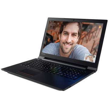 Laptop Lenovo ThinkPad V310, Intel Core i7-6500U, 15.6 inch, 4GB RAM, SSD  8GB + 500GB, GMA HD 520, FreeDos, Negru
