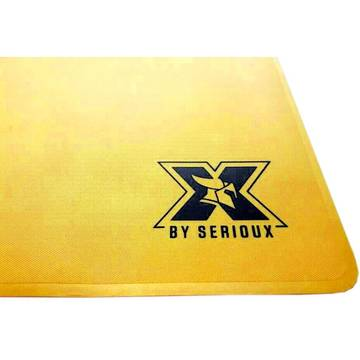 Mouse Pad Serioux Orrin, Gaming, 400 x 300 x 1 mm, Auriu