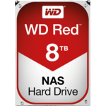 Hard Disk WD WD80EFZX, 3.5 inch, 8 TB, SATA 3, 5400 RPM, 128 MB, Red