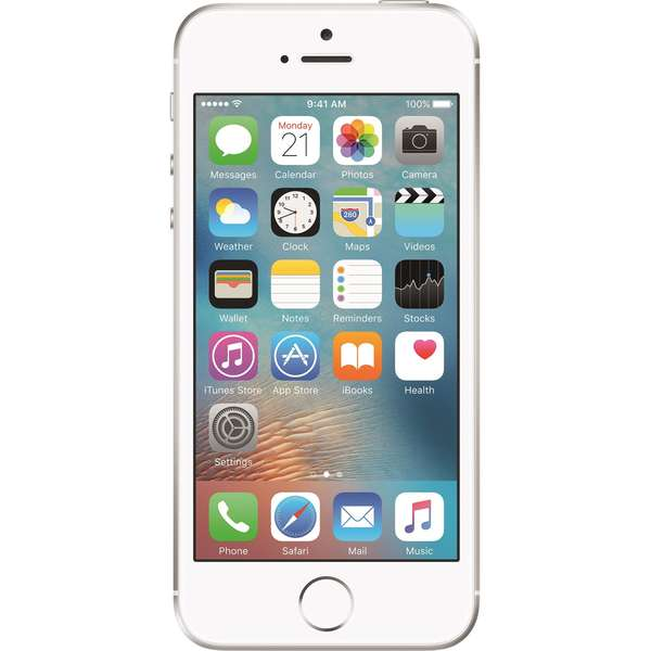 Telefon mobil Apple iPhone SE, 16GB, Silver