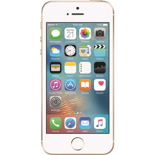 Telefon mobil Apple iPhone SE, 64GB, Gold