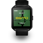 Ceas inteligent Evolio X-WATCH 3, Bluetooth 4.0, Negru
