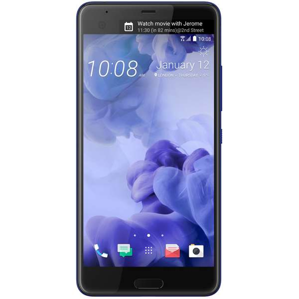 Telefon mobil HTC U Ultra, Single SIM, 5.7 inch, 4 GB RAM, 64 GB, Albastru