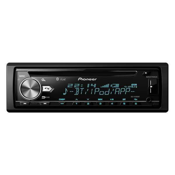 Player auto Pioneer DEH-X5900BT,  4 x 50 W, CD, USB, AUX, RCA, Bluetooth