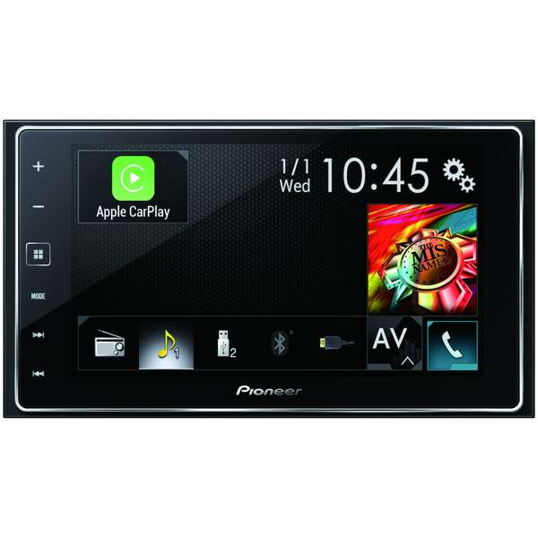 Sistem multimedia auto Pioneer, SPH-DA120, 6.2 inch, Bluetooth, Control Android si iPhone
