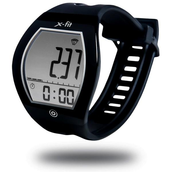 Ceas inteligent Evolio E-ink X-Fit, Bluetooth 4.0, Negru