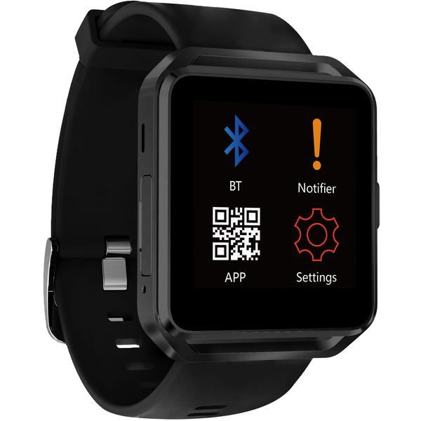 Ceas inteligent Evolio X-Watch 3, Bluetooth 4.0, IPS, Negru