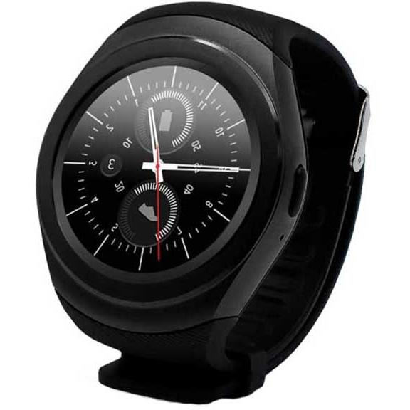 Ceas inteligent Evolio X-Watch M, Bluetooth 4.0, IPS LCD, Negru