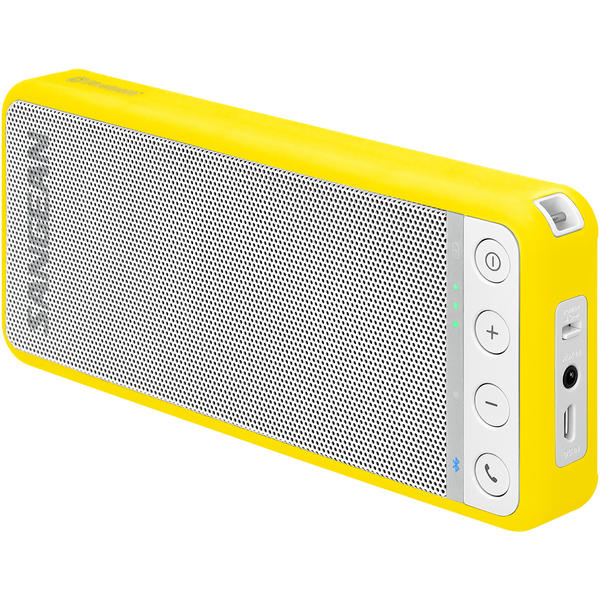 Boxa portabila Sangean BTS-101 BluTab Speaker, 3 W, NFC technology, High fidelity wireless music, Galben