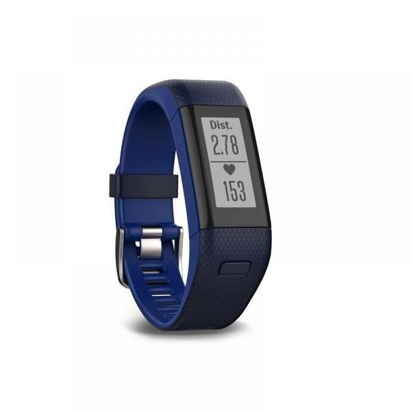 Bratara fitness Garmin VivoSmart HR, Bluetooth, GPS Activity Tracker, Albastru