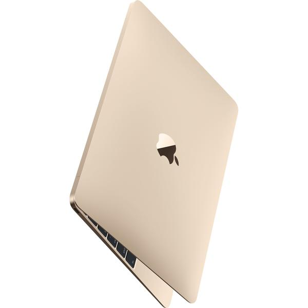Laptop Apple The New MacBook 12 Retina, Intel Core M3, 8 GB, 256 GB SSD, Mac OS Sierra, Auriu