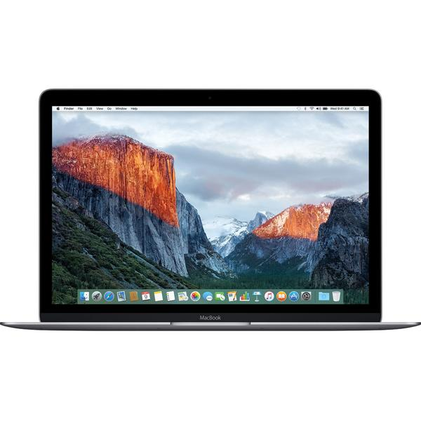 Laptop Apple The New MacBook 12 Retina, Intel Core M3, 8 GB, 256 GB SSD, Mac OS Sierra, Gri
