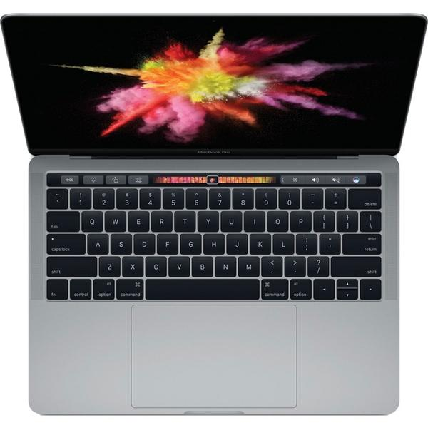 Laptop Apple The New MacBook Pro 13 Retina, Touch Bar, Intel Core i5-7267U, 8 GB, 512 GB SSD, Mac OS Sierra, Gri