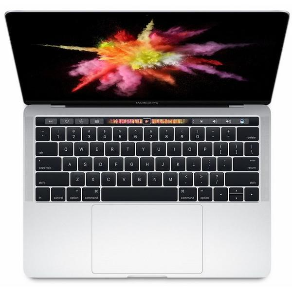 Laptop Apple The New MacBook Pro 13 Retina, Touch Bar, Intel Core i5-7267U, 8 GB, 512 GB SSD, Mac OS Sierra, Argintiu