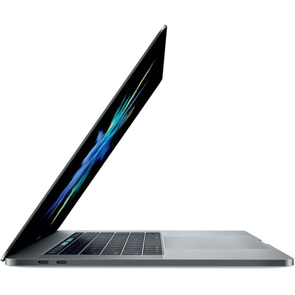Laptop Apple The New MacBook Pro 15 Retina, Touch Bar, Radeon Pro 555 2 GB, Intel Core i7-7700HQ, 16 GB, 256 GB SSD, Mac OS Sierra, Gri