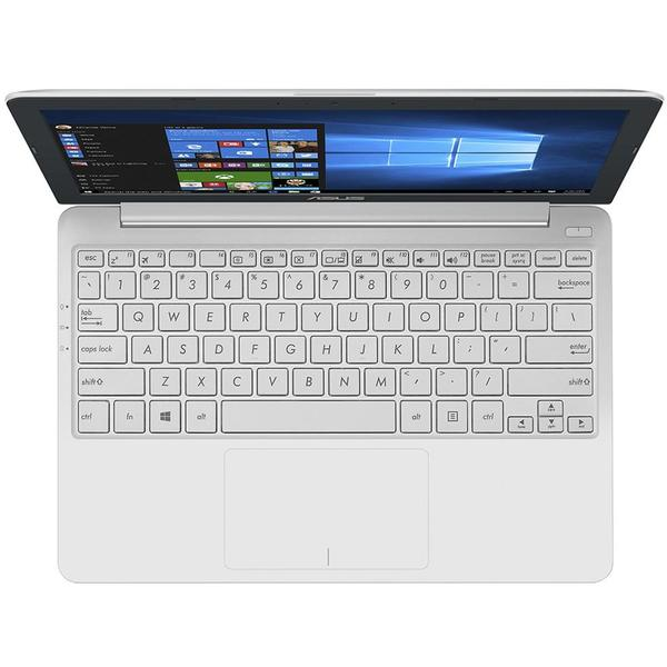 Laptop Asus VivoBook E12 E203NA, Intel Celeron N3350, 4 GB, 32 GB eMMC, Microsoft Windows 10 Home, Alb