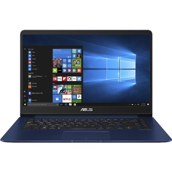 Laptop Asus ZenBook UX530UX, Intel Core i7-7500U, 8 GB, 512 GB SSD, Microsoft Windows 10 Home, Albastru
