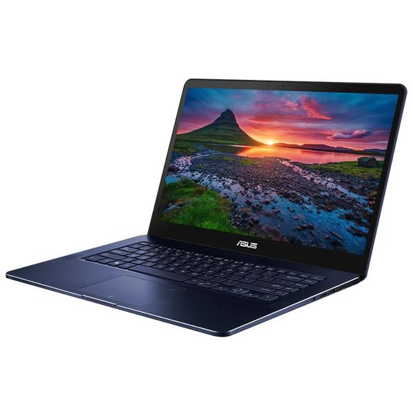 Laptop Asus ZenBook Pro UX550VE, Intel Core i7-7700HQ, 16 GB, 512 GB SSD, Microsoft Windows 10 Pro, Albastru