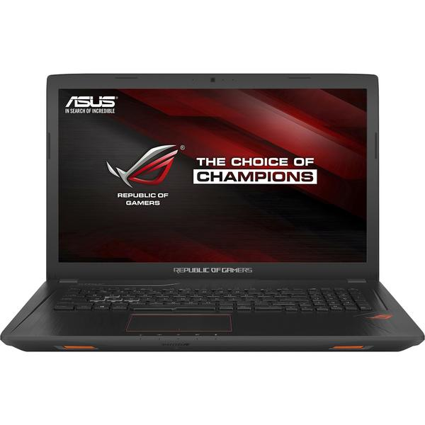 Laptop Asus ROG GL753VD, Intel Core i7-7700HQ, 8 GB, 1 TB, Endless OS, Negru