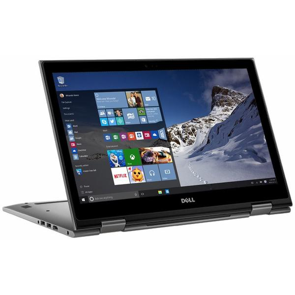 Laptop Dell Inspiron 5379 (seria 5000), Intel Core i7-8550U, 8 GB, 256 GB SSD, Microsoft Windows 10 Pro, Gri