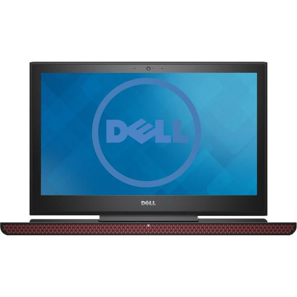 Laptop Dell Inspiron 7567 (seria 7000), Intel Core i5-7300HQ, 8 GB, 1 TB + 8 GB SSH, Microsoft Windows 10 Home, Negru