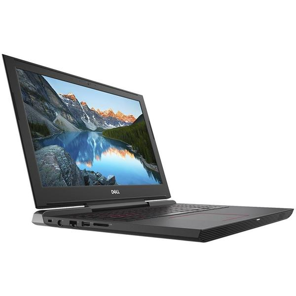 Laptop Dell Inspiron 7577 (seria 7000), Intel Core i7-7700HQ, 16 GB, 1 TB + 256 GB SSD, Microsoft Windows 10 Home, Negru