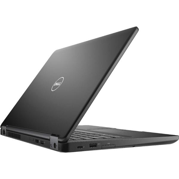 Laptop Dell Latitude 5480 (seria 5000), Intel Core i5-7200U, 8 GB, 500 GB, Microsoft Windows 10 Pro, Negru