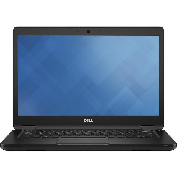 Laptop Dell Latitude 5480 (seria 5000), Intel Core i5-7200U, 8 GB, 256 GB SSD, Microsoft Windows 10 Pro, Negru