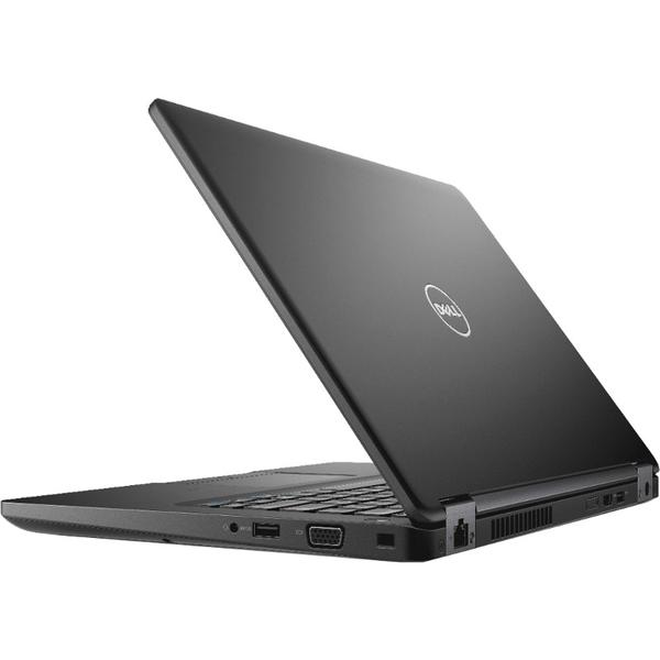 Laptop Dell Latitude 5480 (seria 5000), Intel Core i5-7440HQ, 8 GB, 256 GB SSD, Microsoft Windows 10 Pro, Negru