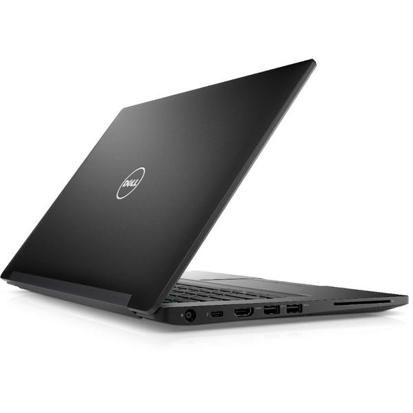 Laptop Dell Latitude 7480 (seria 7000), Intel Core i7-7600U, 8 GB, 512 GB SSD, Microsoft Windows 10 Pro, Negru
