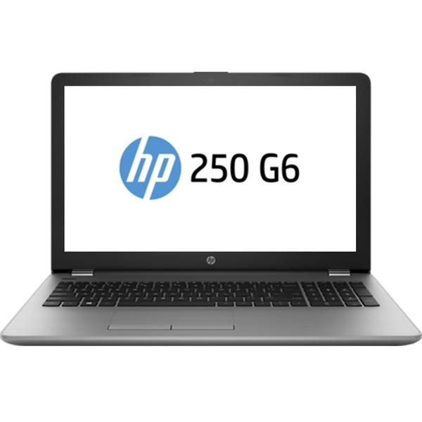 Laptop HP 250 G6, Intel Core i5-7200U, 8 GB, 256 GB SSD, Free DOS, Argintiu