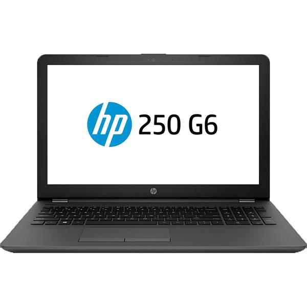 Laptop HP 250 G6, Intel Core i3-6006U, 4 GB, 500 GB, Free DOS, Negru