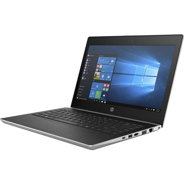 Laptop HP Probook 430 G5, Intel Core i3-7100U, 4 GB, 128 GB SSD, Microsoft Windows 10 Pro, Argintiu