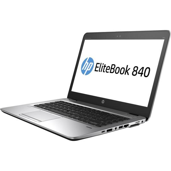 Laptop HP EliteBook 840 G4, Intel Core i7-7500U, 8 GB, 512 GB SSD, Microsoft Windows 10 Pro, Argintiu