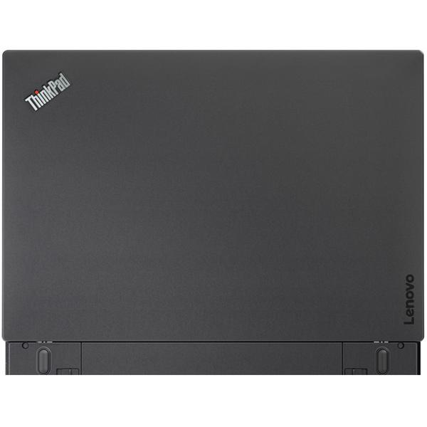 Laptop Lenovo ThinkPad T470s, Intel Core i7-7500U, 16 GB, 512 GB SSD, Microsoft Windows 10 Pro, Negru