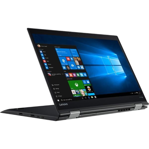 Laptop Lenovo ThinkPad X1 Yoga (2nd Gen), Intel Core i7-7500U, 8 GB, 512 GB SSD, Microsoft Windows 10 Pro, Negru