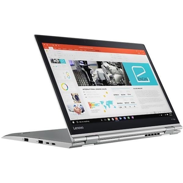 Laptop Lenovo ThinkPad X1 Yoga (2nd Gen), Intel Core i7-7600U, 16 GB, 1 TB SSD, Microsoft Windows 10 Pro, Argintiu