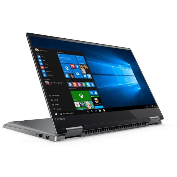 Laptop Lenovo Yoga 720, Intel Core i7-7700HQ, 8 GB, 512 GB SSD, Microsoft Windows 10 Home, Gri