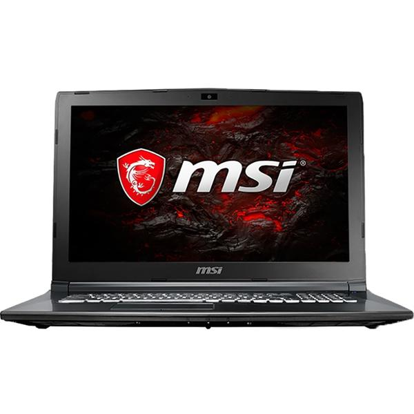 Laptop MSI GL62M 7REX, Intel Core i7-7700HQ, 8 GB, 1 TB + 128 GB SSD, Microsoft Windows 10 Home, Negru