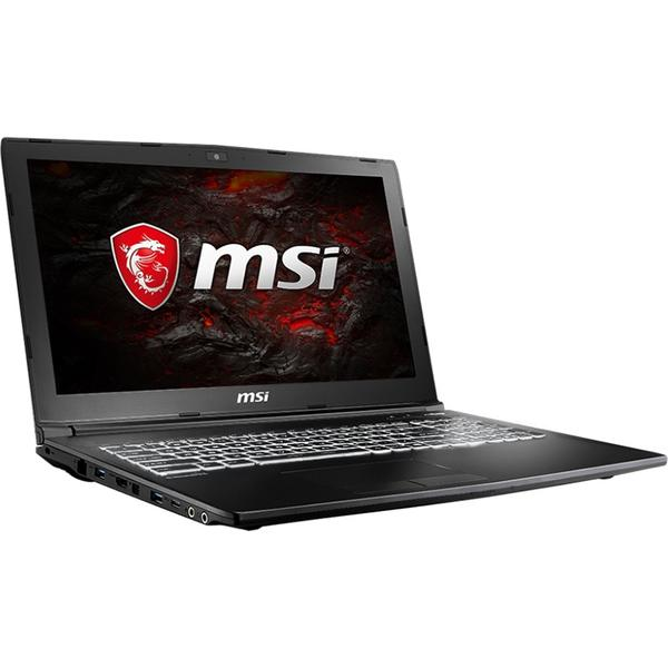 Laptop MSI GL62M 7REX, FHD, Intel Core i7-7700HQ, 8 GB, 1 TB + 128 GB SSD, Microsoft Windows 10 Home, Negru