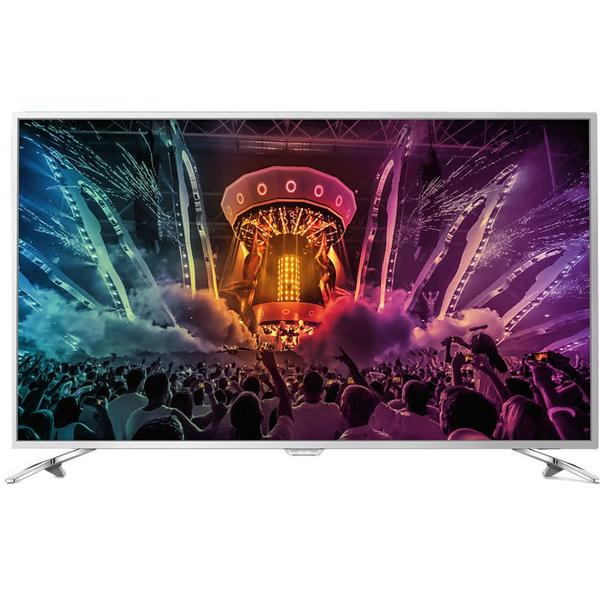 Televizor Philips PUS6561/12, Smart TV, 123 cm, 4K UHD, Argintiu