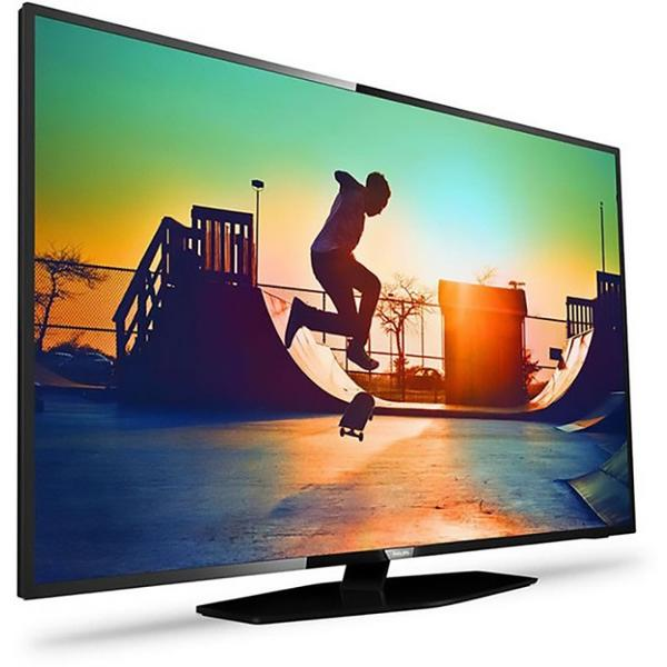 Televizor Philips PUS6162/12, Smart TV, 139 cm, 4K UHD, Negru