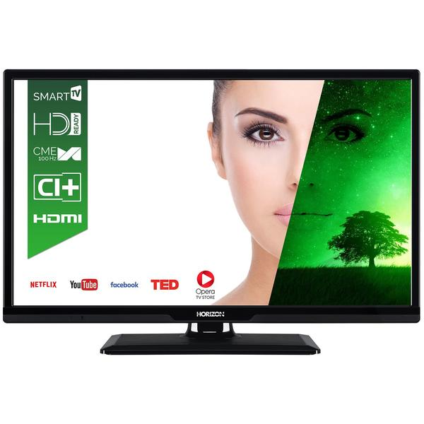 Televizor Horizon 24HL7110H, Smart TV, 61 cm, HD Ready, Negru