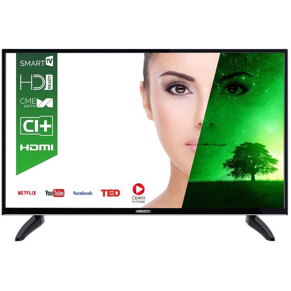 Televizor Horizon HL7310H, Smart TV, 81 cm, HD Ready, Negru