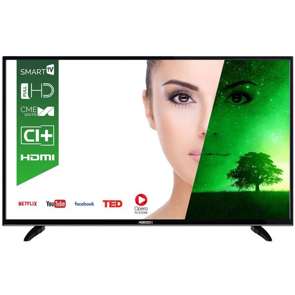 Televizor Horizon HL7310F, Smart TV, 140 cm, Full HD, Negru