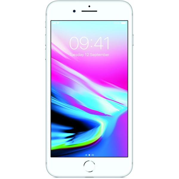 Telefon mobil Apple iPhone 8 Plus, 5.5 inch, 3 GB RAM, 64 GB, Argintiu
